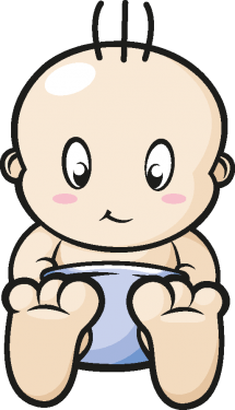 Cartoon Baby, Children, Kids png