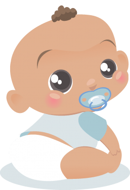 Cartoon Baby, Children, Kids 01 png