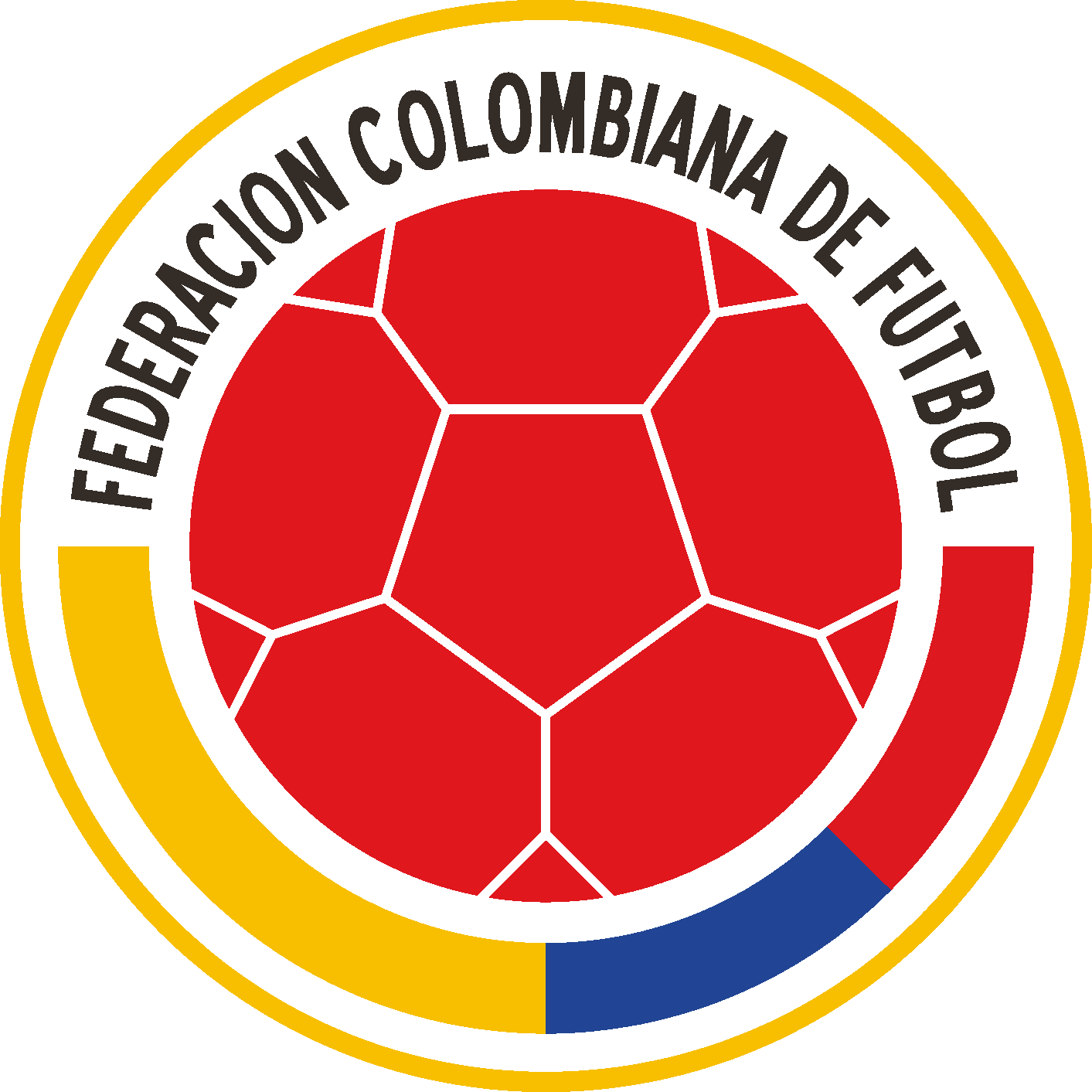 Colombian Football Federation & Colombia National Football Team Logo png