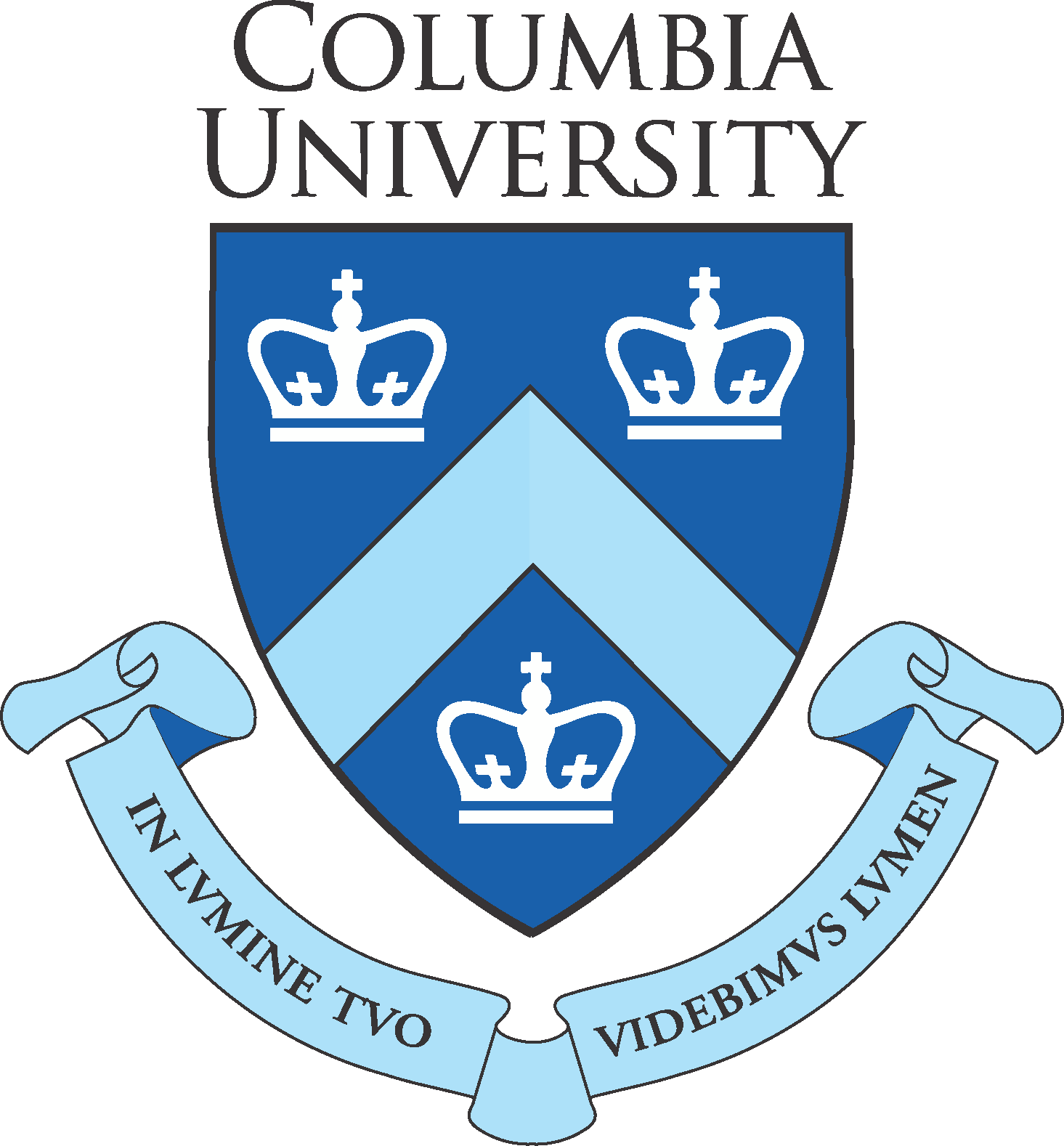 Columbia University Logo and Seals png