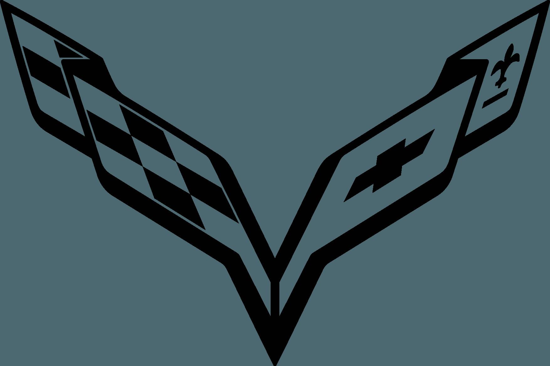 corvette logo chevrolet pdf free vector download freelogovectors