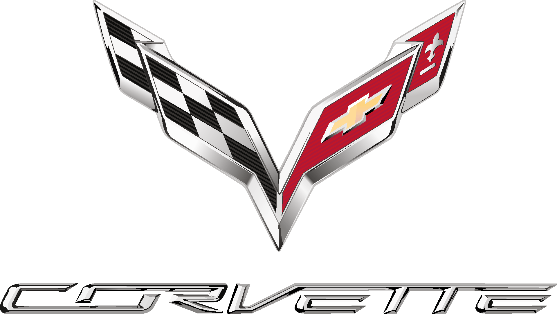 Corvette Logo [Chevrolet   PDF] png