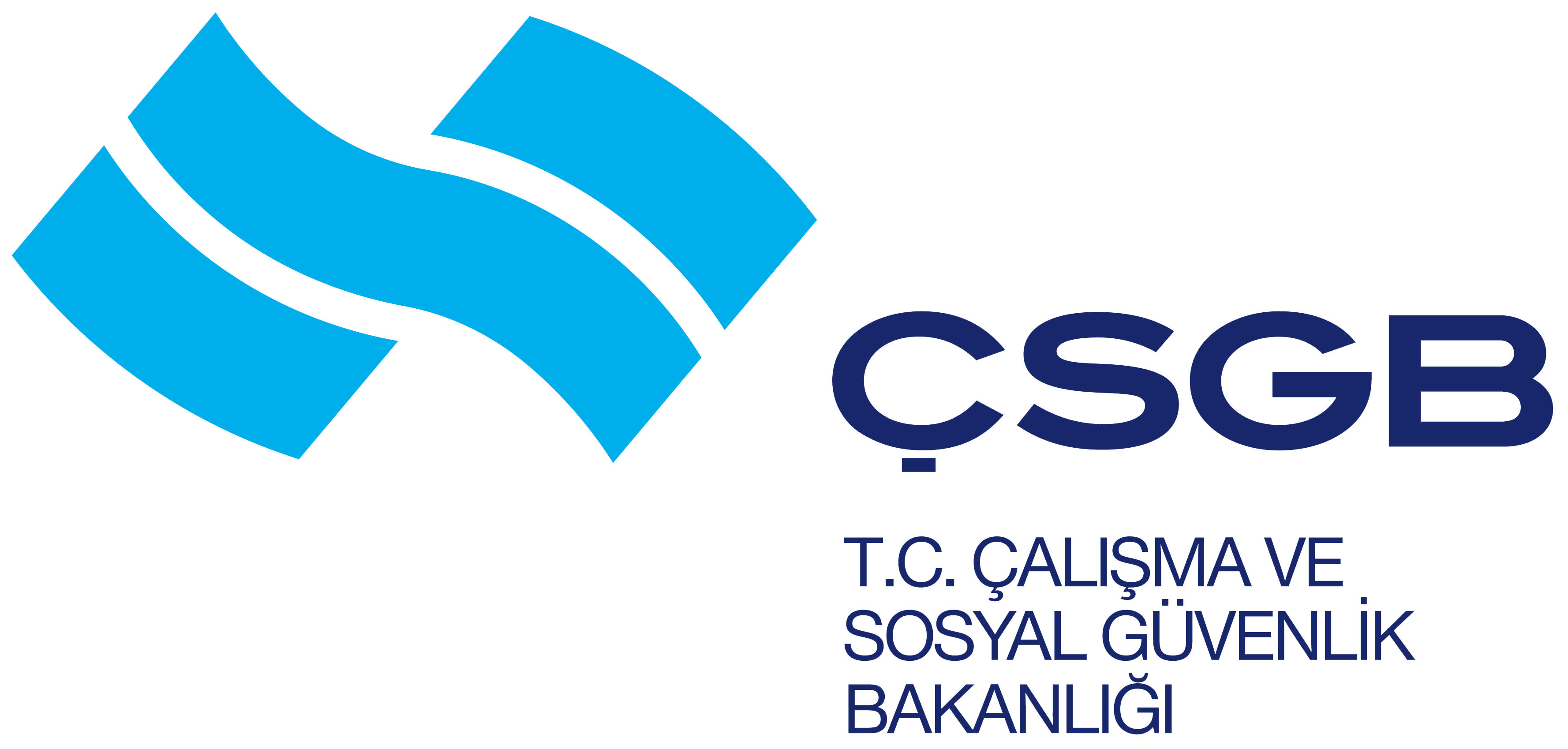 ÇSGB – T.C. Çalışma ve Sosyal Güvenlik Bakanlığı Logosu [csgb.gov.tr] png