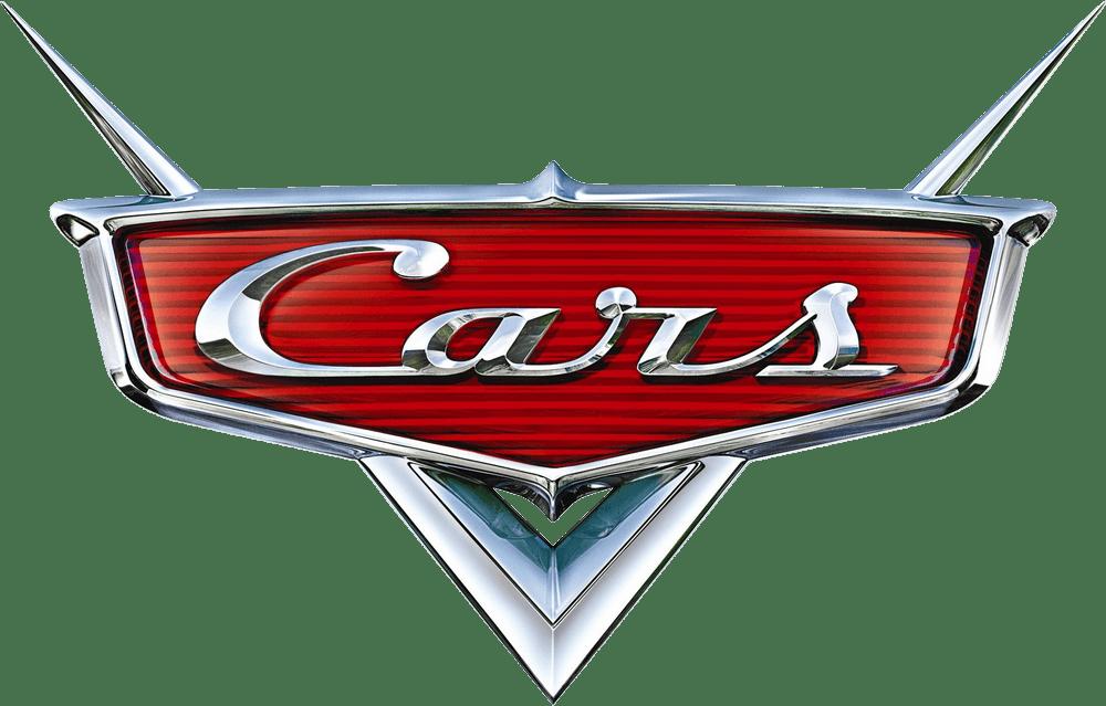 disney cars movie logo vector