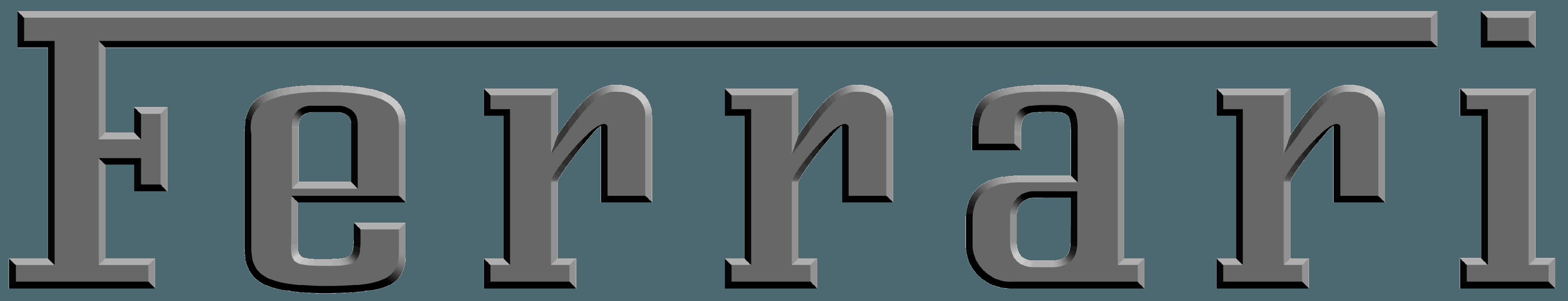 Ferrari Emblem and Logo png