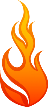Flame, Fire 01 png