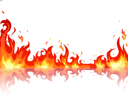 Flame, Fire 04 png