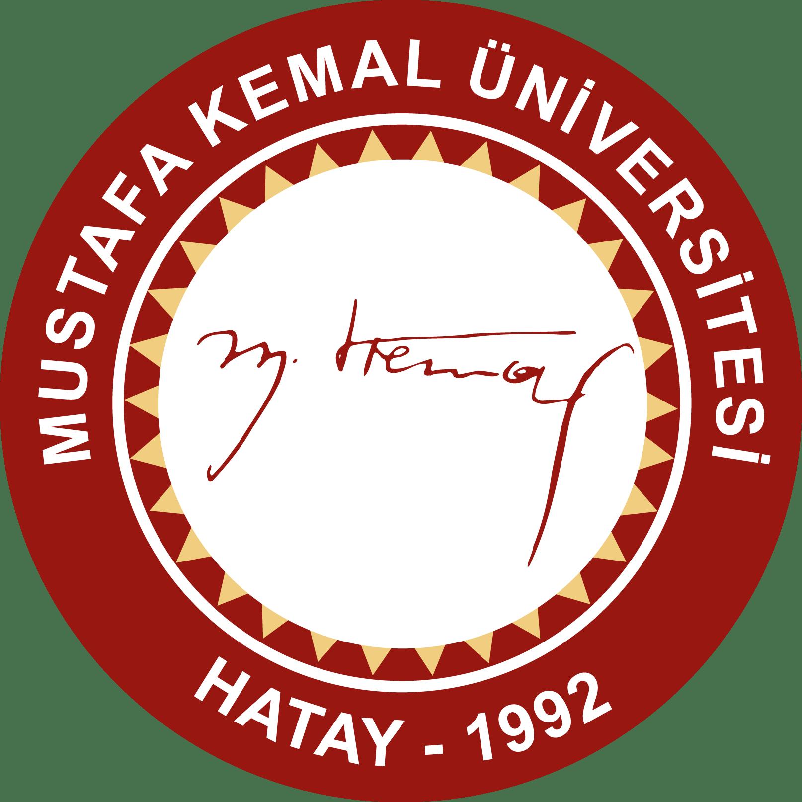 MKÜ – Mustafa Kemal Üniversitesi (Hatay) Logo [mku.edu.tr] png
