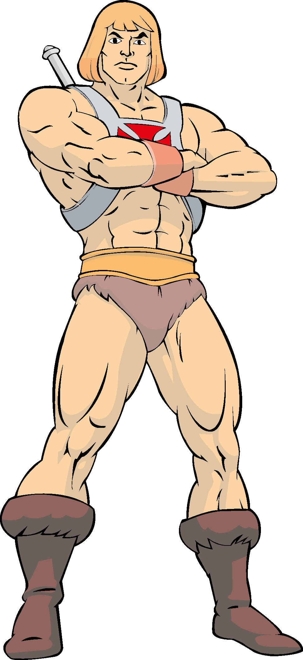 He man (Master of the Universe) png