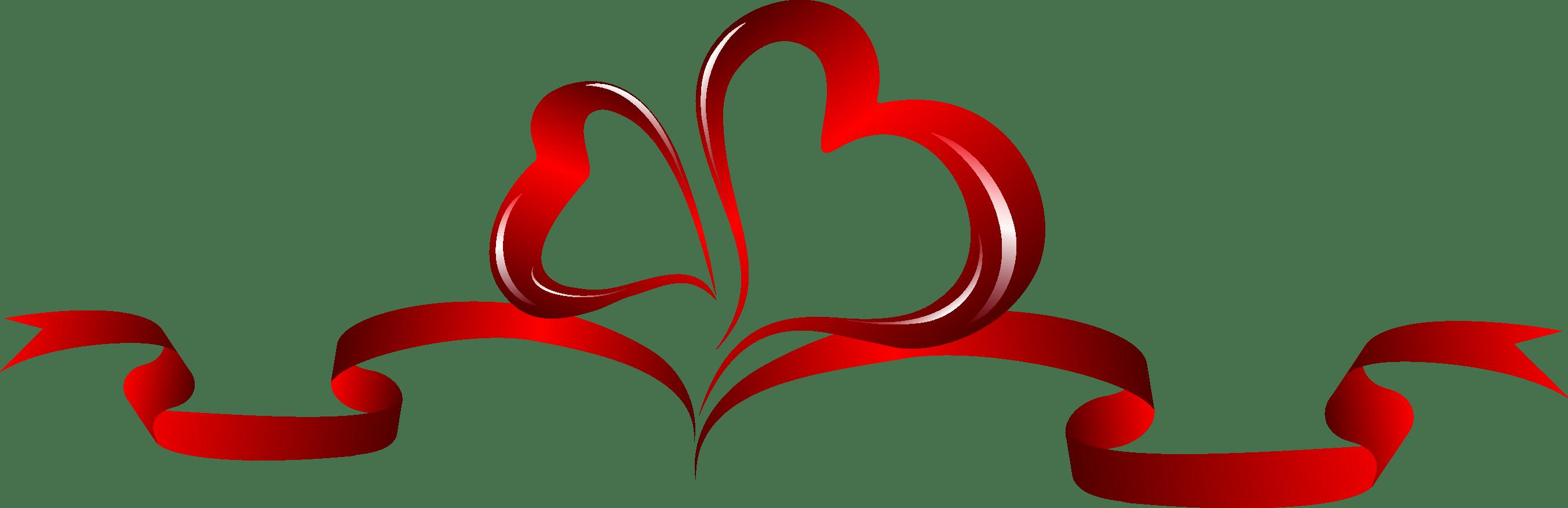Ribbon, Heart png