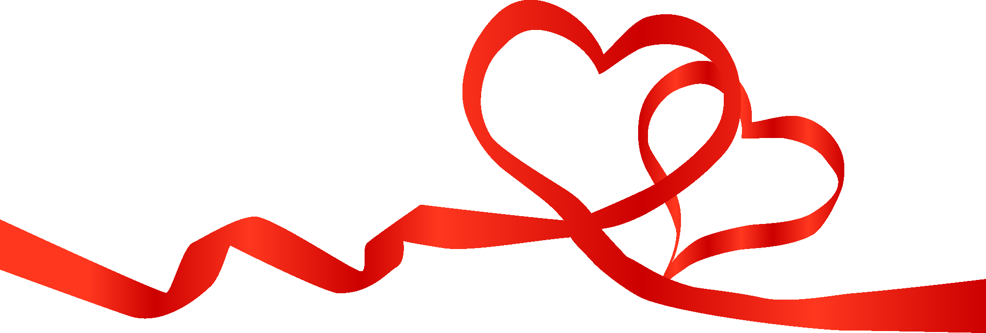 Ribbon, Heart 01 png