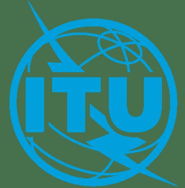 itu international telecommunication union logo blue 369x375 vector