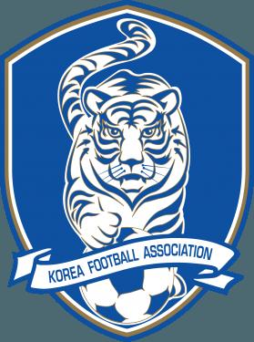 Korea Football Association & South Korea National Football Team Logo png
