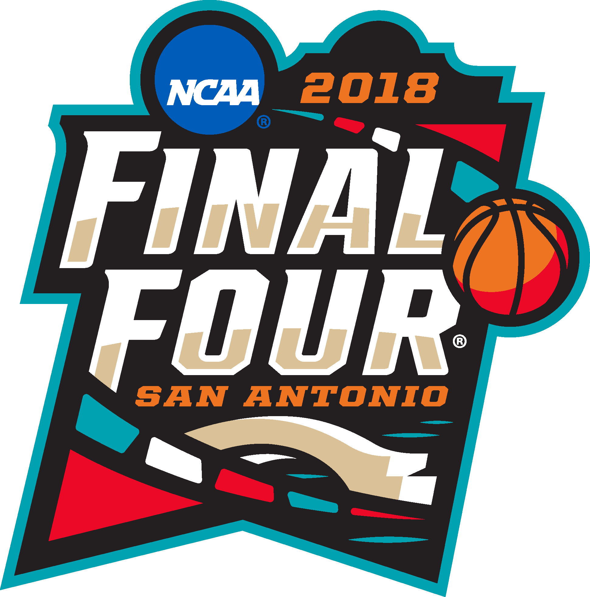 March Madness Logo (Final Four) png