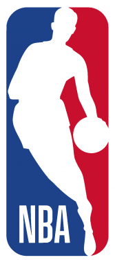 nba logo 167x375 vector