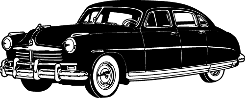 Transport, Classic Cars Silhouettes png