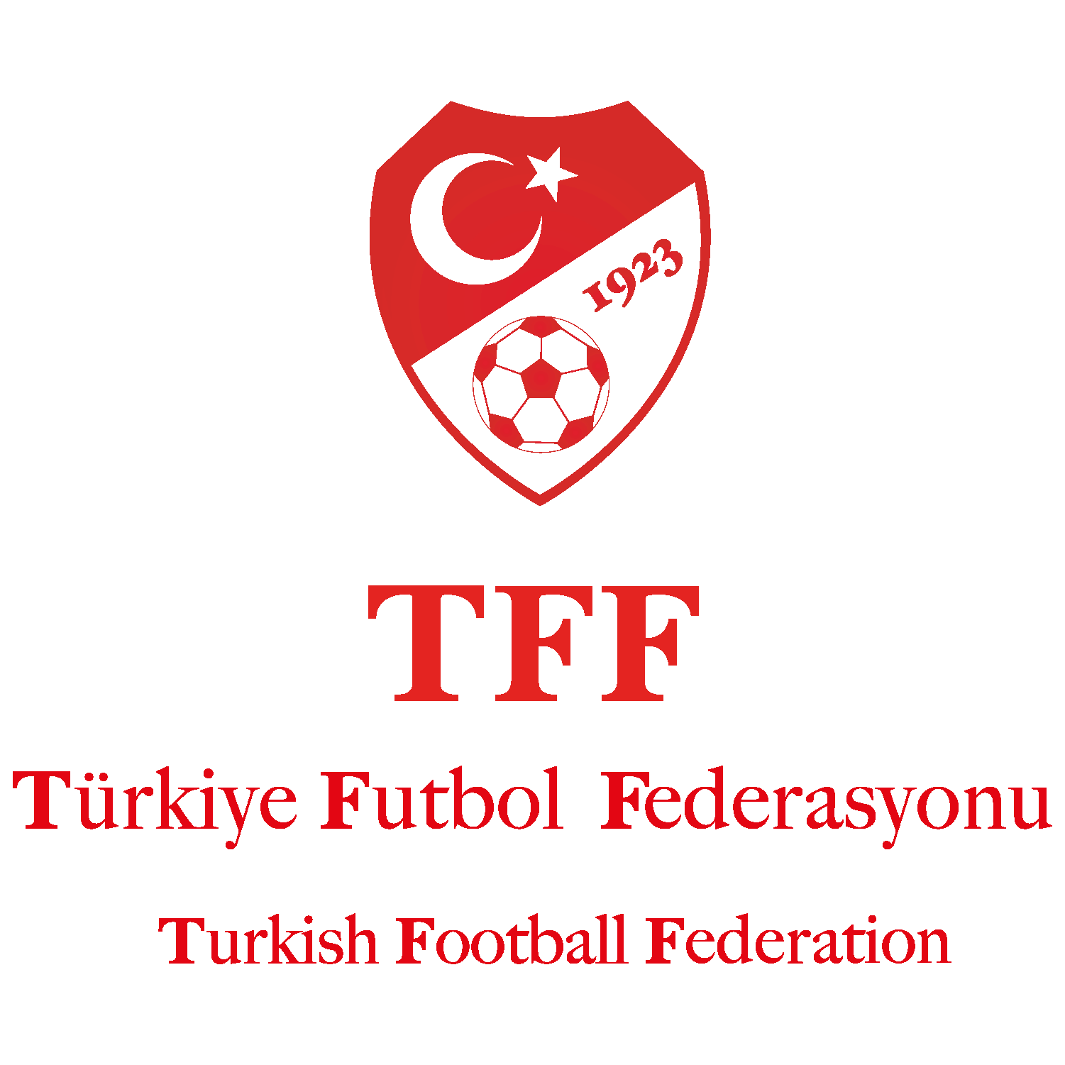 Turkey National Football Team Logo & Turkish Football Federation (TFF) Logo png