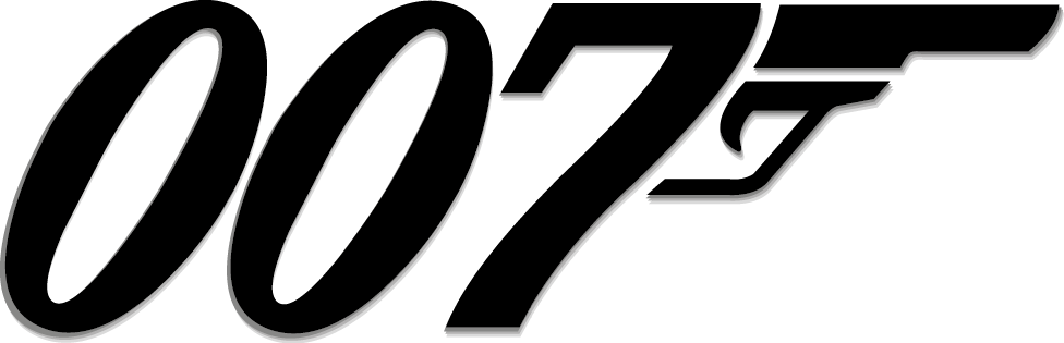 007 James Bond Logo png