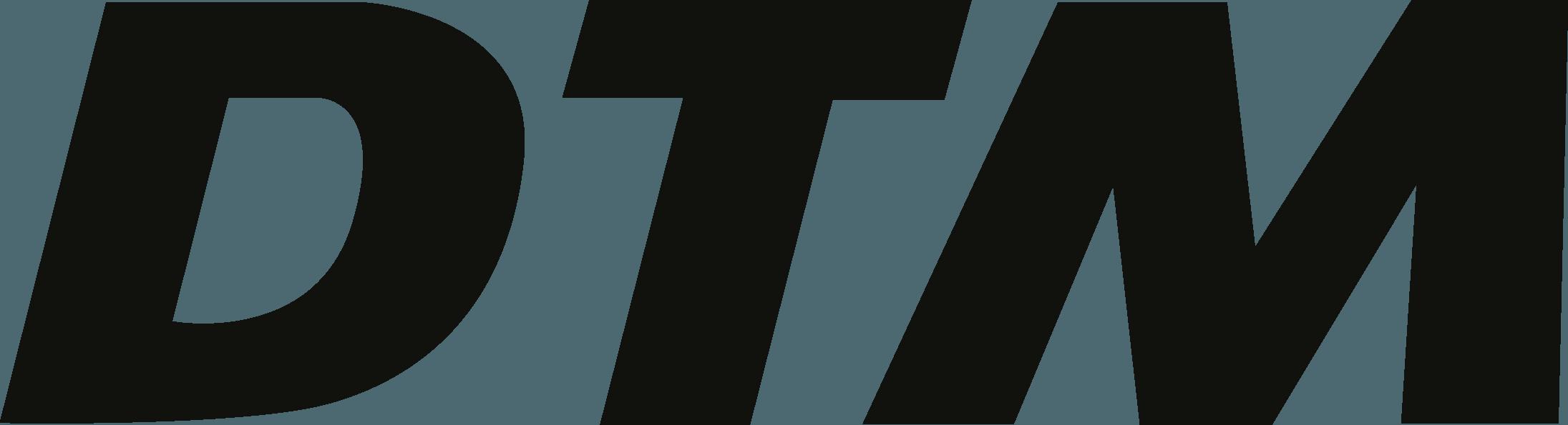 DTM Deutsche Tourenwagen Masters logo vector