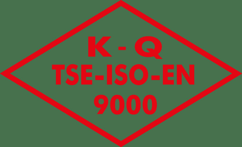 K Q TSE ISO EN 9000 Logo [tse.gov.tr] png