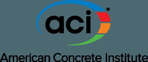 ACI Logo [American Concrete Institute] png