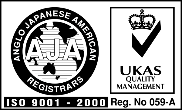 ISO 9001 2000 Logo [AJA UKAS] png