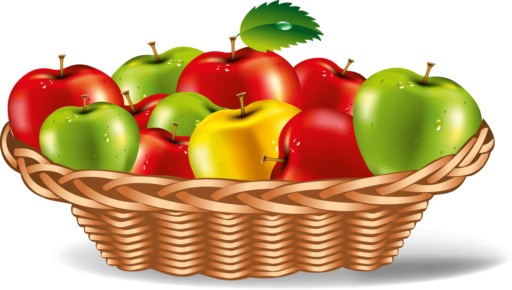 Apple Plate Vector Art png