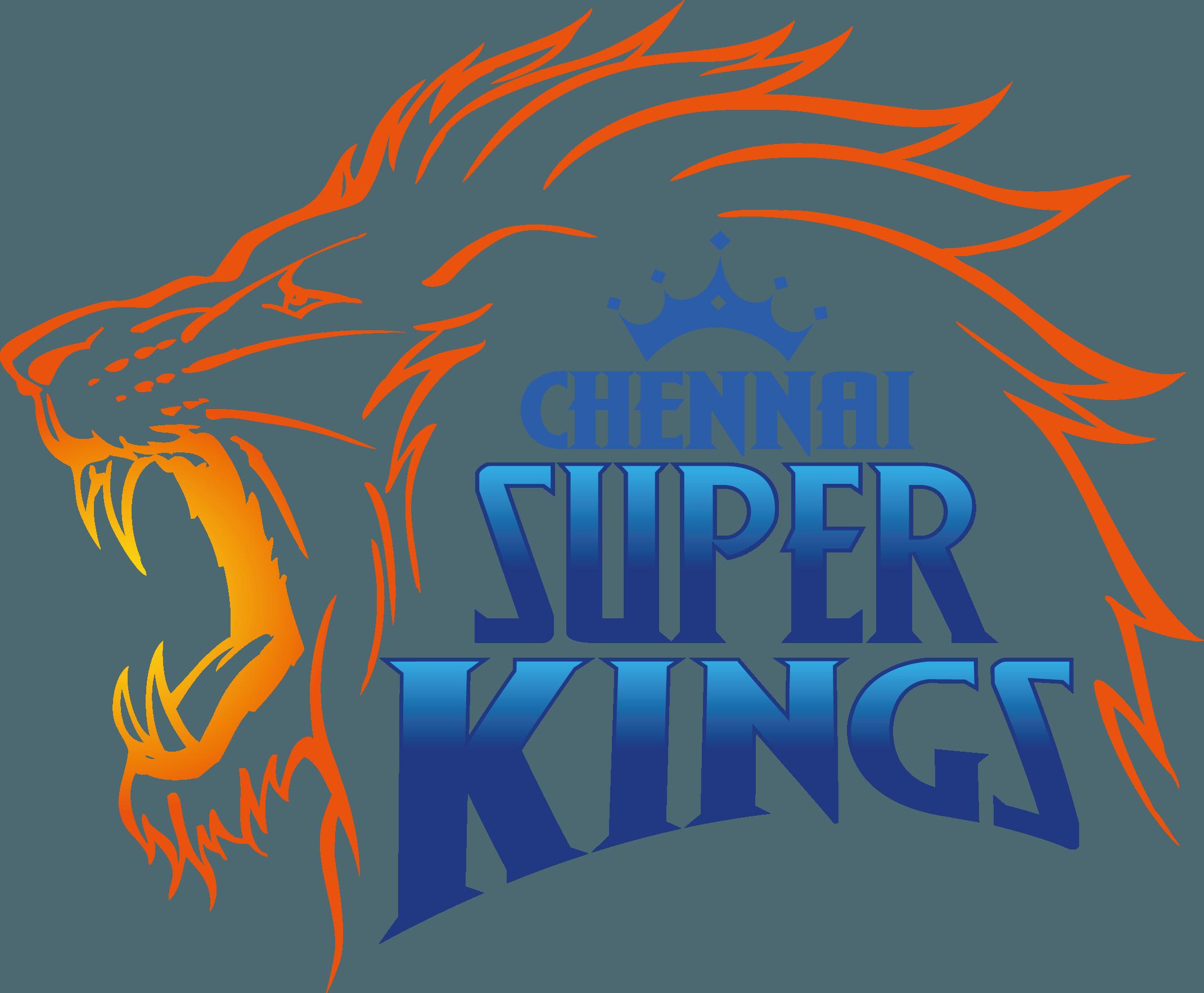 Chennai Super Kings Logo [CSK] Vector Icon Template Clipart