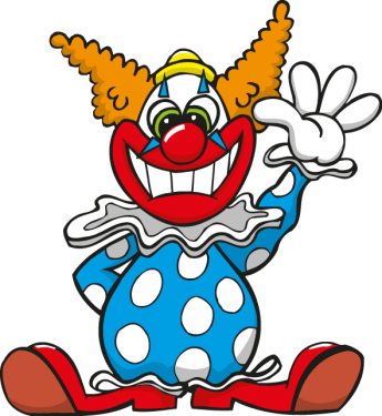Clown Set Vector Art png
