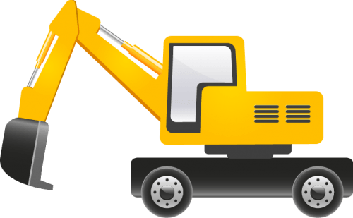 Construction Vehicles Vector Pack png