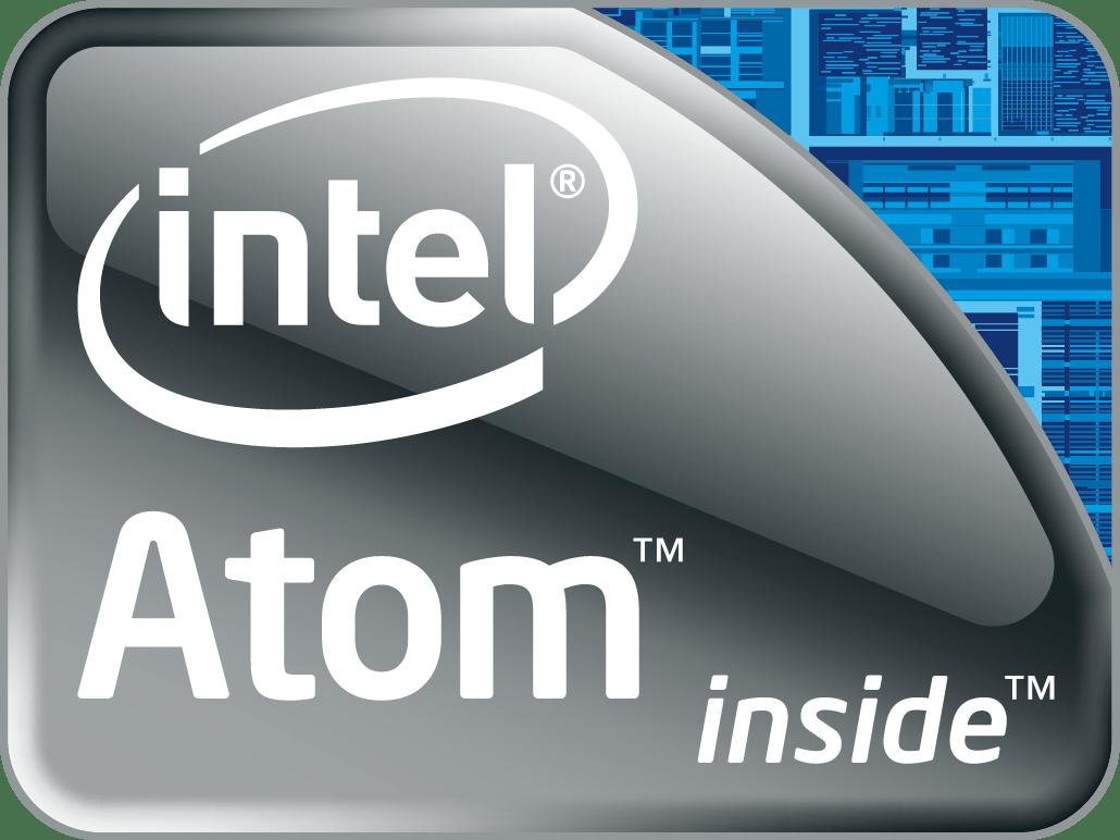 intel atom logo vector