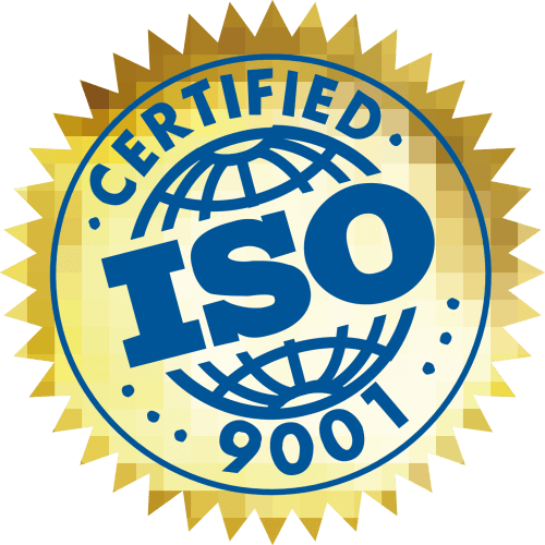 ISO 9001 Certified Logo png