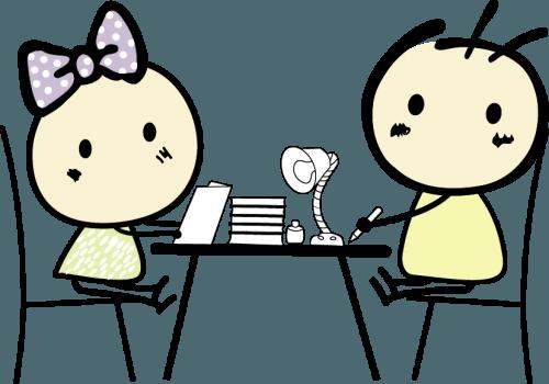 Kiki & Coco Cartoon Vector Art png