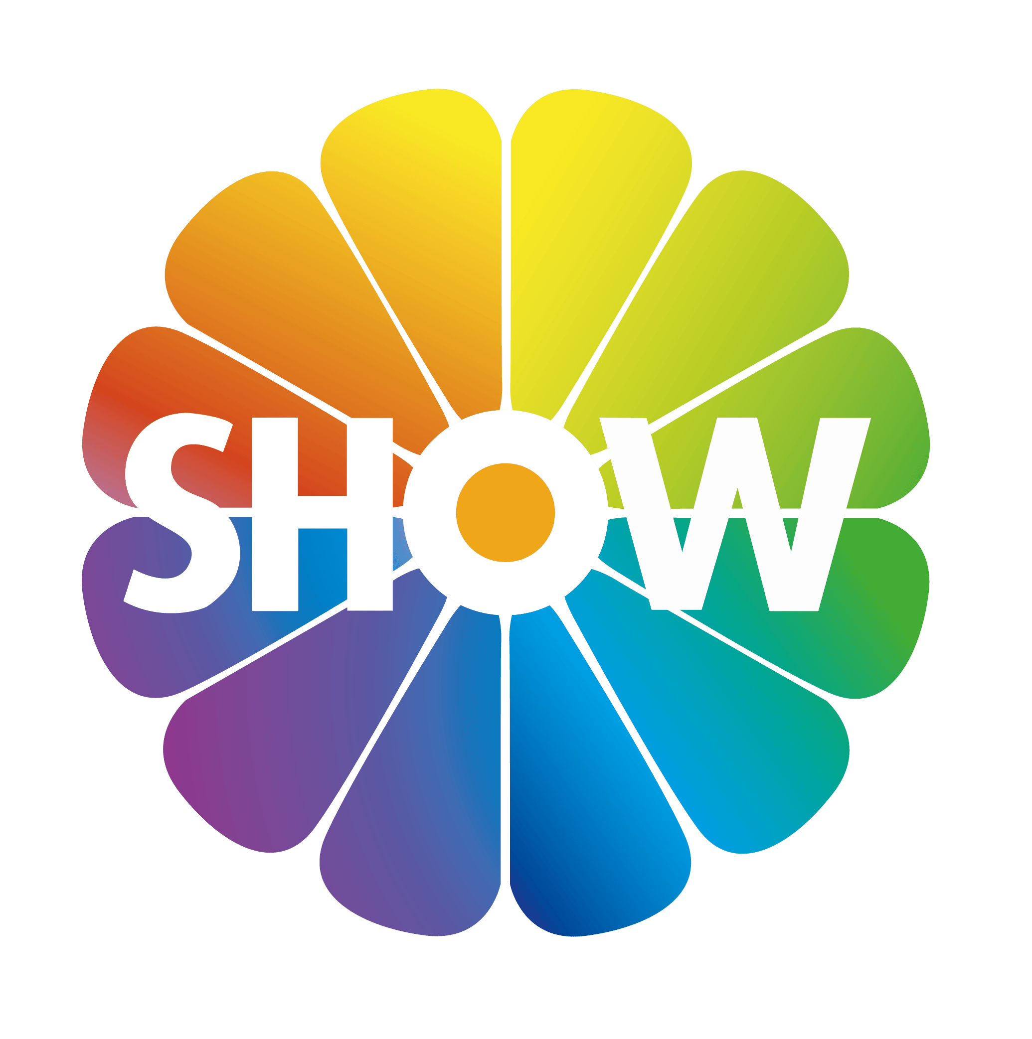 show tv logo vector icon template clipart free download