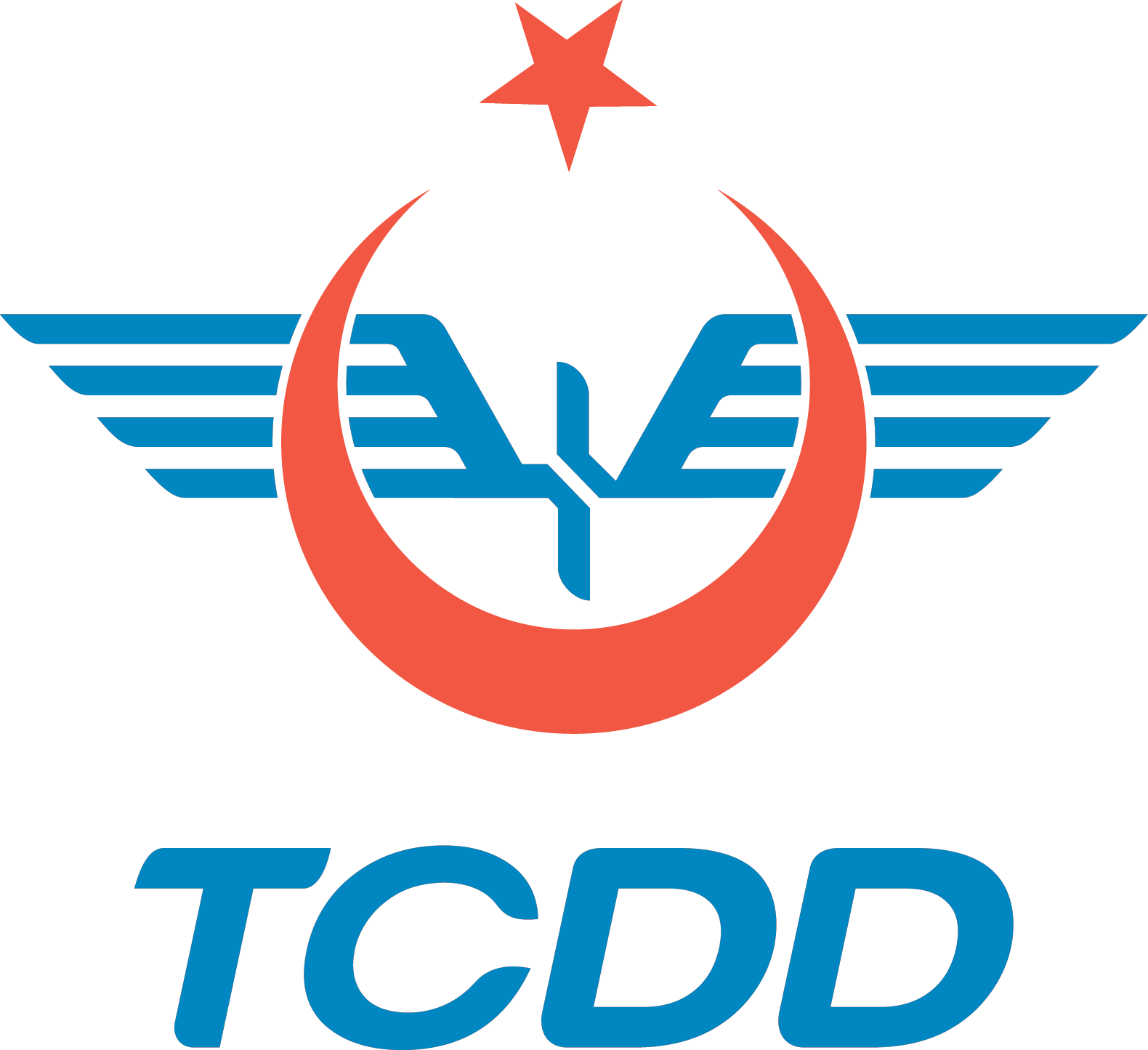 TCDD   T.C. Devlet Demiryolları Logosu [tcdd.gov.tr] png