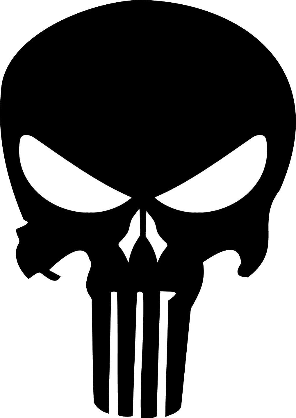 punisher logo vector icon template clipart free download