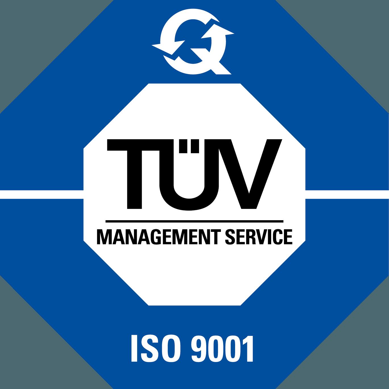 TUV Logo [ISO 9001] png