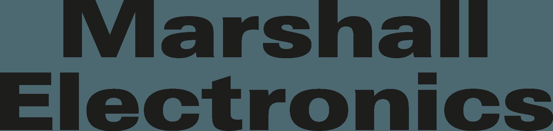 Marshall Logo [Electronics] png