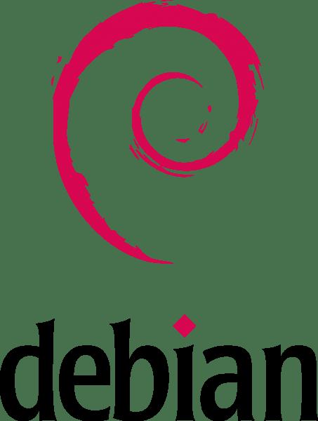 Debian Linux Logo png