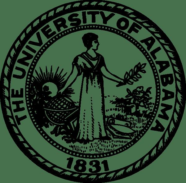 UA Logo [University of Alabama   ua.edu] png