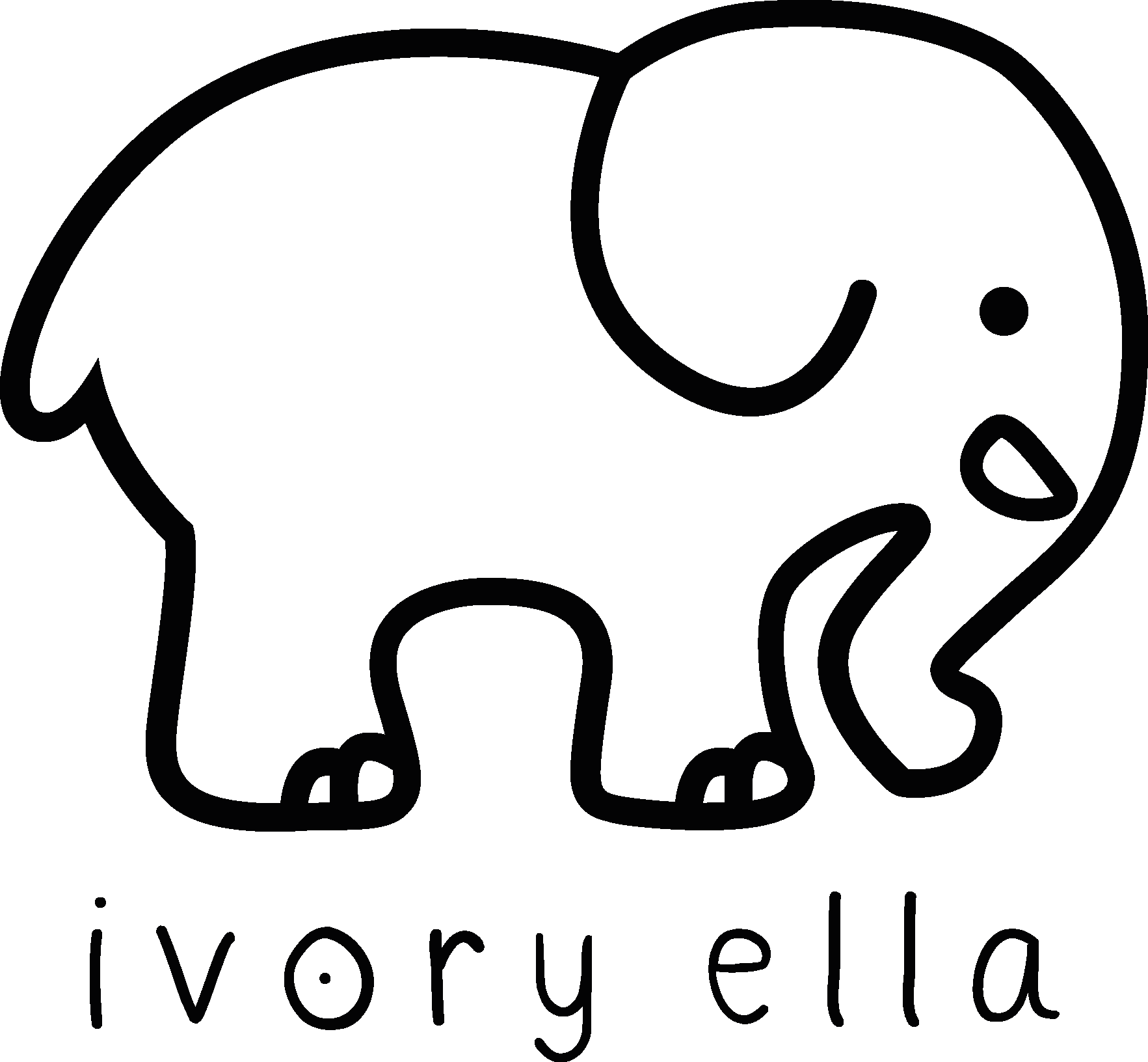 92158db8f4d9 Ivory Ella Logo Vector Icon Template Clipart Free Download