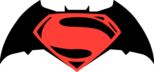 Batman vs Superman Logo png