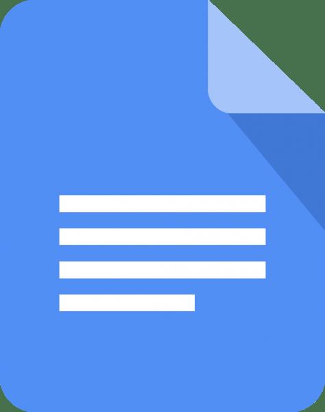 google docs logo 474x600