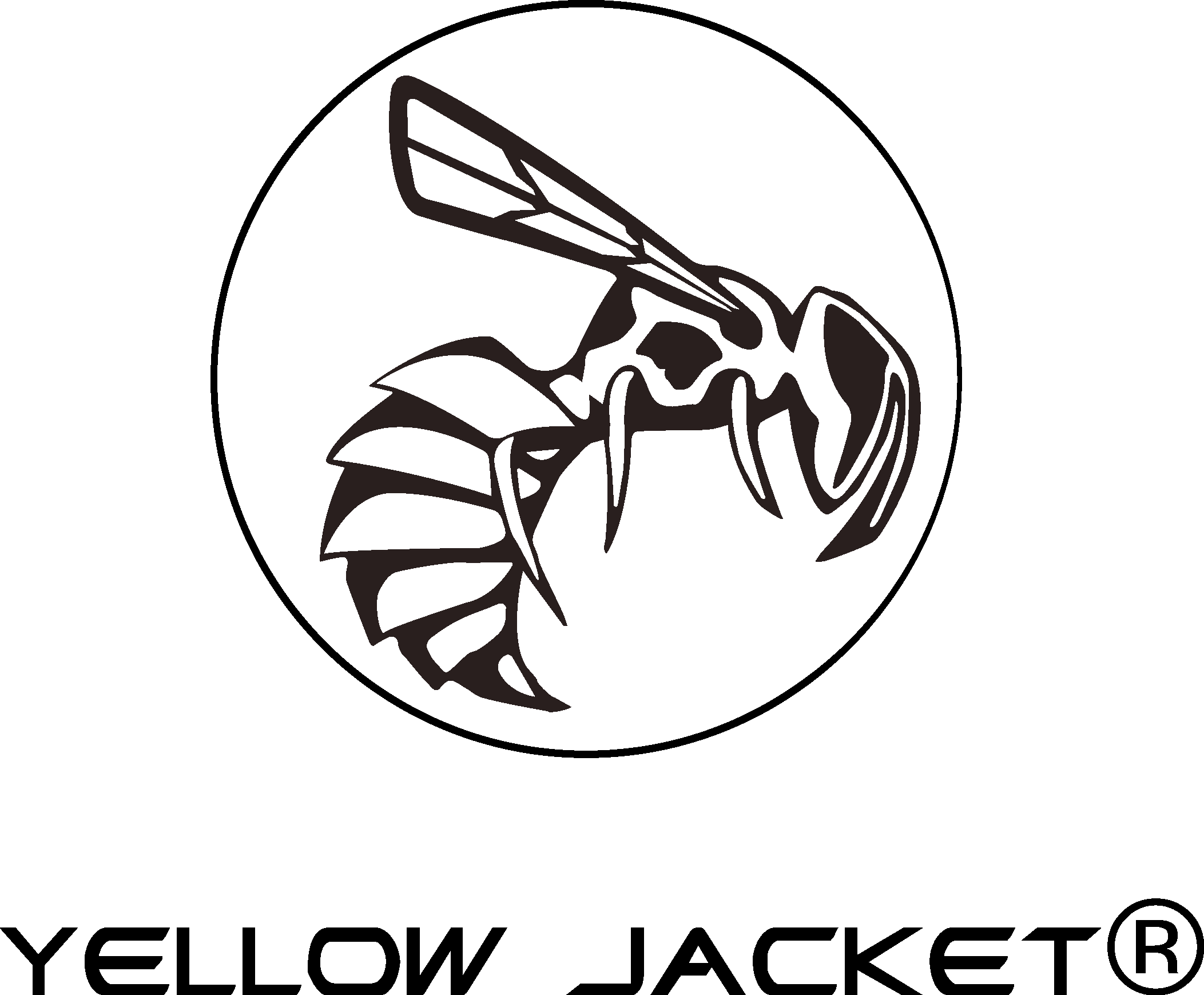 yellow jacket logo  case  vector icon template clipart free download