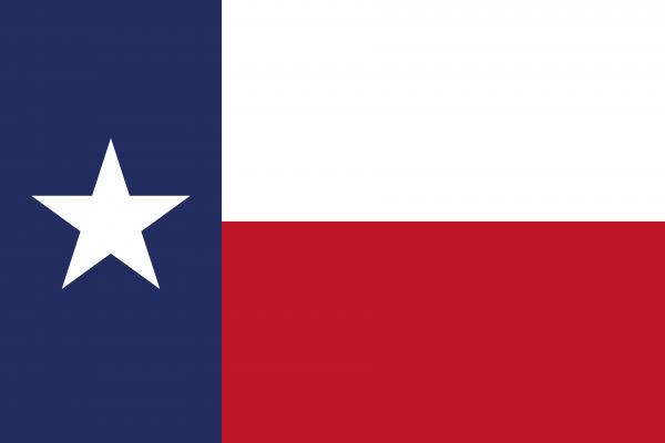 Flag of Texas 600x400