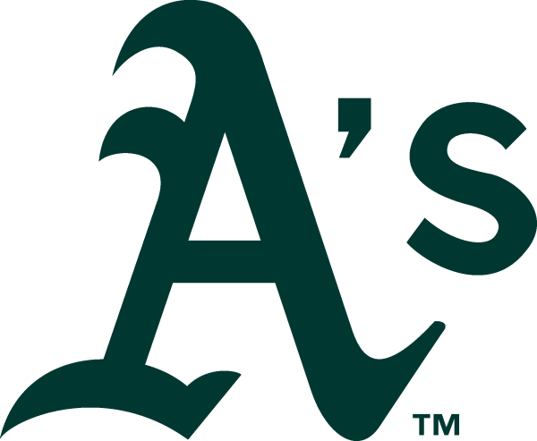 Oakland Athletics Logo 600x493