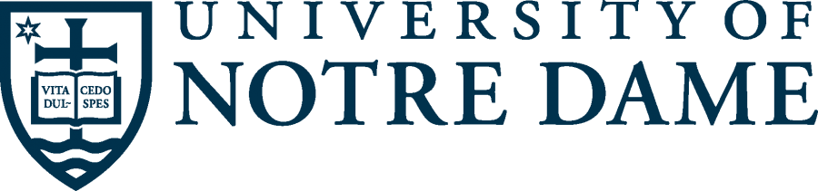 University of Notre Dame Logo png