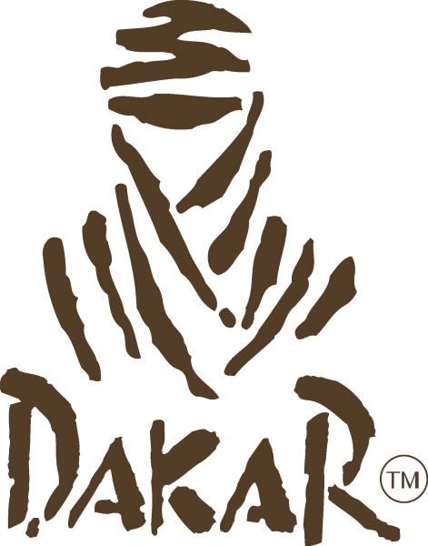 dakar rally logo 471x600 vector
