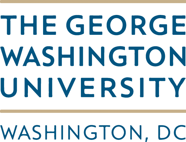 GW   George Washington University Logo png