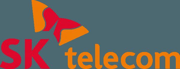 sk telecom logo 600x231 vector